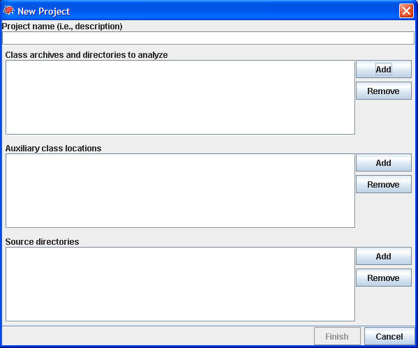 Using the SpotBugs GUI — spotbugs 3 1 12 documentation